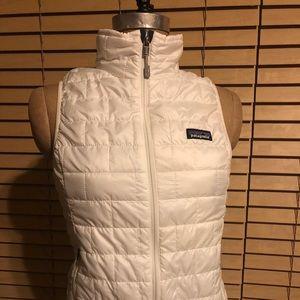 Patagonia White XS Vest